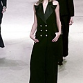 YSL 2002 Spring Couture - Carmen Kass