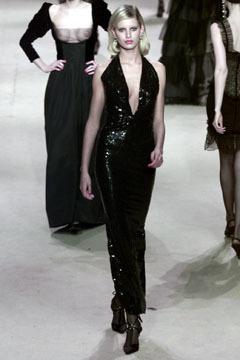 YSL 2002 Spring Couture - Karolina Kurkova