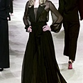 YSL 2002 Spring Couture - Jodie Kidd