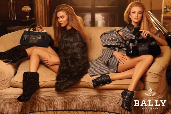 Bally Fall 2011 - Karlie Kloss & Caroline Trentini