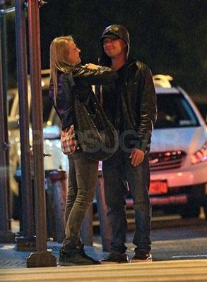 Anna Maria Jagodzinska & Leonardo DiCaprio