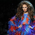 Christian Dior Haute Couture F/W 2011 - Alla Kostromicheva