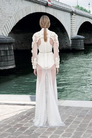 Givenchy Haute Couture F/W 2011 - Caroline Trentini