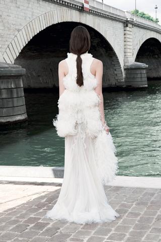 Givenchy Haute Couture F/W 2011 - Zuzanna Bijoch