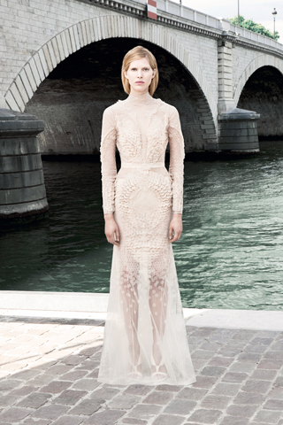 Givenchy Haute Couture F/W 2011 - Iselin Steiro