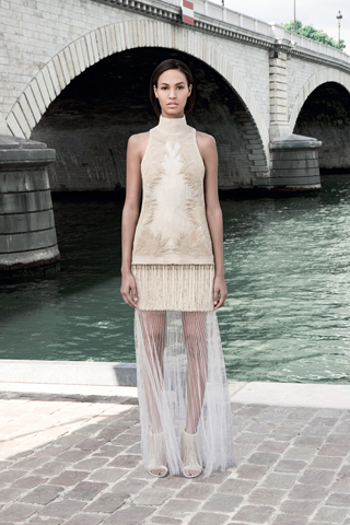 Givenchy Haute Couture F/W 2011 - Joan Smalls