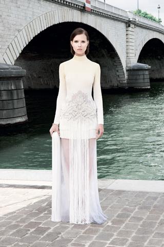 Givenchy Haute Couture F/W 2011 - Valeriya Melnik