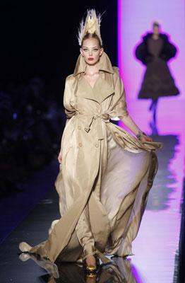 Jean Paul Gaultier Haute Couture F/W 2011 - Tanya Dziahileva