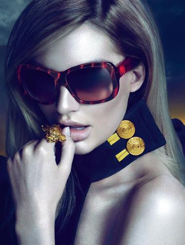 Versace Eyewear F/W 2011:Candice Swanepoel