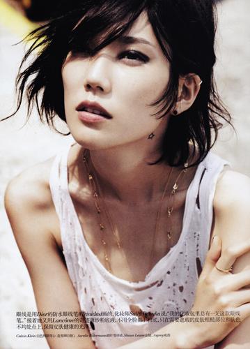 Vogue China August 2011 - Tao Okamoto