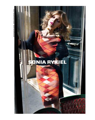 Sonia Rykiel F/W 2011:Constance Jablonski