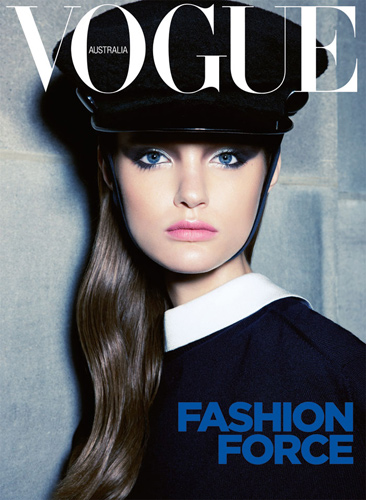 Vogue Australia September 2011 : Katie Fogarty