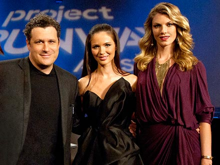 Project Runway All Stars - Isaac Mizrahi, Georgina Chapman and Angela Lindvall
