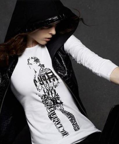 Karl Lagerfeld for Macy's - Coco Rocha