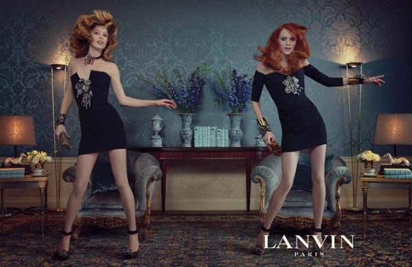 Lanvin F/W 2011 : Raquel Zimmermann & Karen Elson