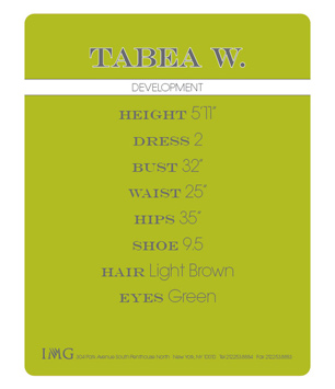 Show Packages-NY SS 12: IMG - Tabea W