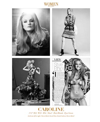 Show Packages-NY SS 12: Women - Caroline Trentini