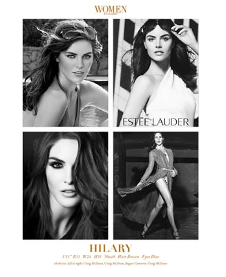 Show Packages-NY SS 12: Women - Hilary Rhoda