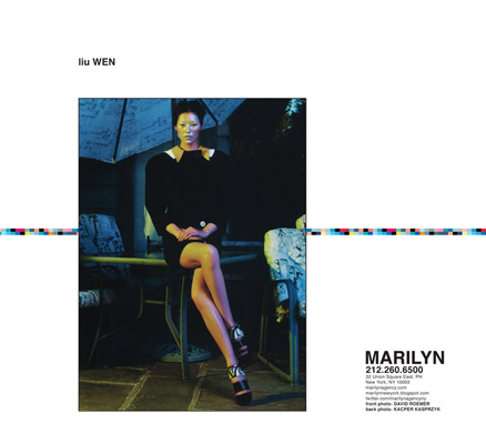 Show Packages-NY SS 12: Marilyn - Liu Wen