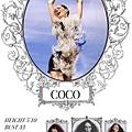 Show Packages-NY SS 12: Wilhelmina - Coco Rocha