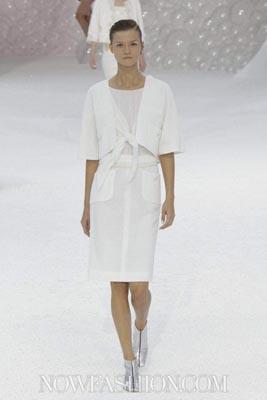 Chanel S/S 2012 - Kasia Struss