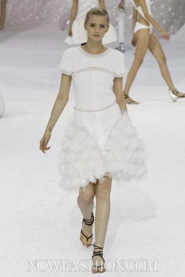 Chanel S/S 2012 - Abbey Lee