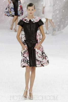 Chanel S/S 2012 - Bette Franke