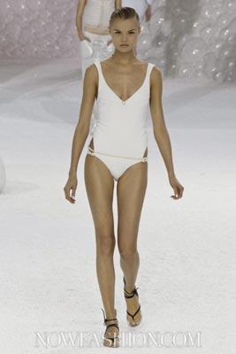 Chanel S/S 2012 - Magdalena Frackowiak