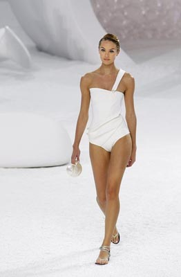 Chanel S/S 2012 - Candice Swanepoel