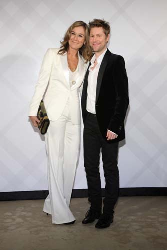 Burberry Taipei 101 Opening Party - Angela Ahrendts and Christopher Bailey
