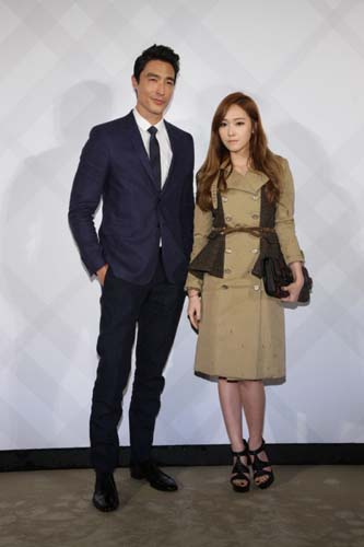 Burberry Taipei 101 Opening Party - Daniel Henney and 少女時代Jessica
