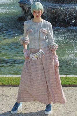 Chanel Cruise 2013 Versailles - Lindsey Wixson