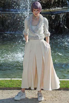 Chanel Cruise 2013 Versailles - Saskia de Brauw