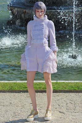 Chanel Cruise 2013 Versailles - Maud Welzen