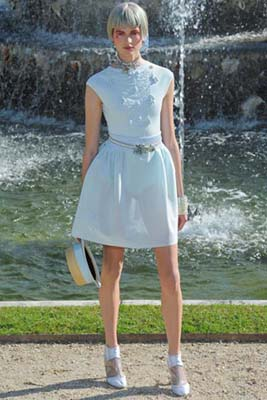Chanel Cruise 2013 Versailles - Bette Franke