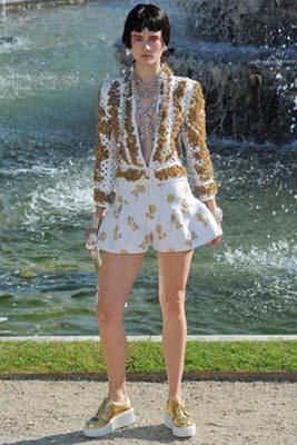 Chanel Cruise 2013 Versailles - Jac