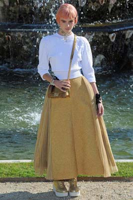 Chanel Cruise 2013 Versailles - Montana Cox
