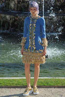 Chanel Cruise 2013 Versailles - Kendra Spears