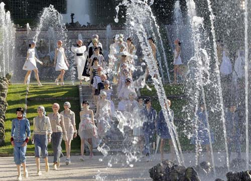 Chanel Cruise 2013 Versailles
