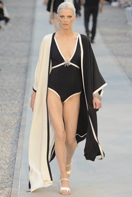 Chanel Cruise 2012 Cap d'Antibes - Kristen McMenamy