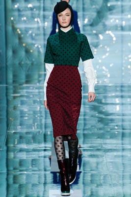Marc Jacobs F/W 2011 - Jacquelyn Jablonski