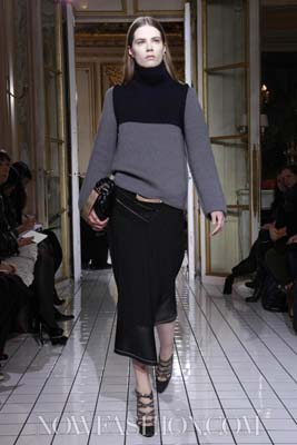Balenciaga F/W 2011 - Caroline Brasch Nielsen