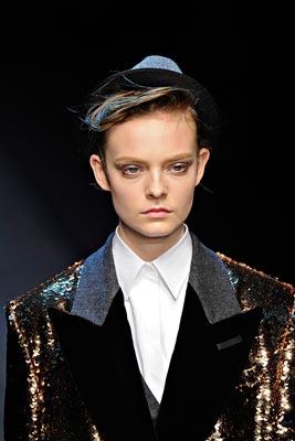 Dolce & Gabbana F/W 2011 - Nimue Smit