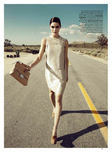 Harper's Bazaar June / July 2011 - Hilary Rhoda