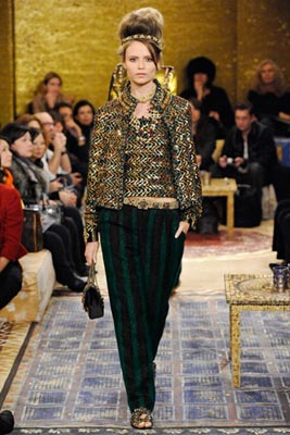 Chanel Paris-Byzance Pre Fall 2011 - Natasha Poly