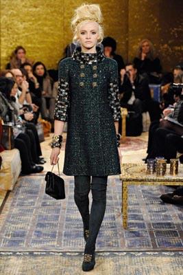 Chanel Paris-Byzance Pre Fall 2011 - Ginta Lapina