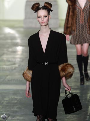 Topshop Unique F/W 2011 - Codie Young