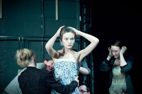 Alexander McQueen F/W 2011 - Nimue Smit