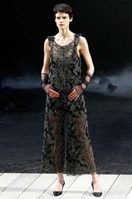 Chanel F/W 2011 - Saskia de Brauw