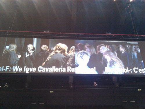 Dolce&Gabbana F/W 2011 Rehearsal